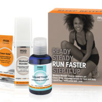 Run Faster, el nuevo kit de Mama Mio especial para runners (o para quienes practicamos cualquier deporte)