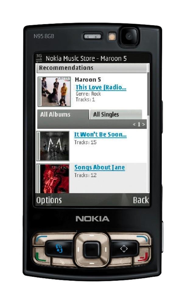 Foto de Nokia N95 de 8 GB (4/8)