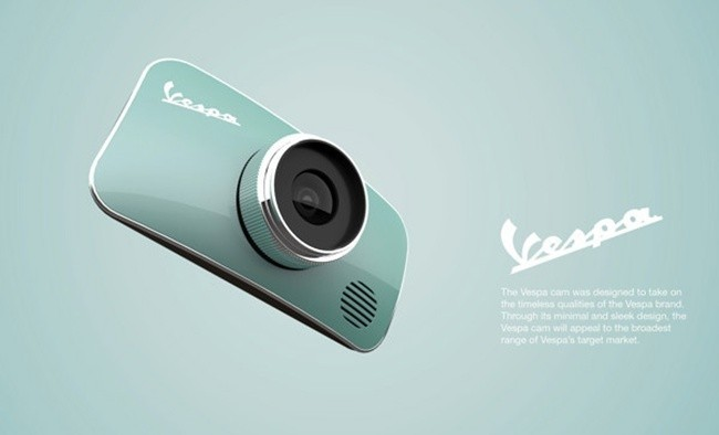 Y si Vespa crease una cámara de fotos cómo sería
