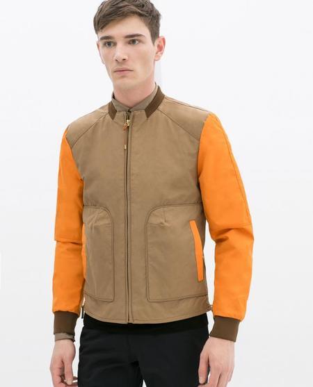 Zara Menswear Bicolor Jacket