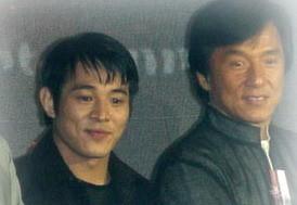 Jet Li y Jackie Chan juntos en una película