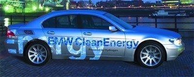 BMW Serie 7 de Hidrógeno en 2007