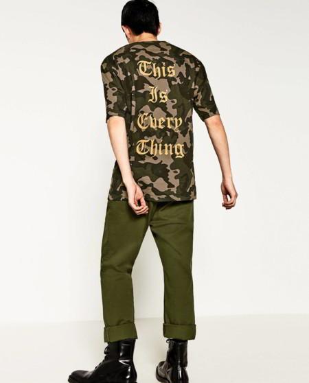 Tipografia Gotica Zara Camisetas Otono Trendencias Hombre