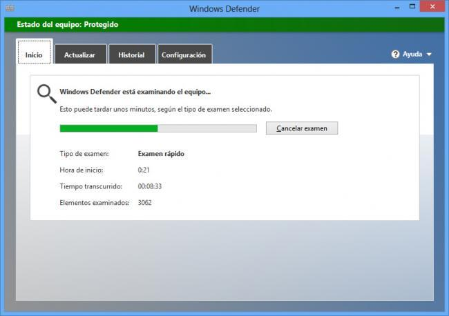 Windows Defender para Windows 8
