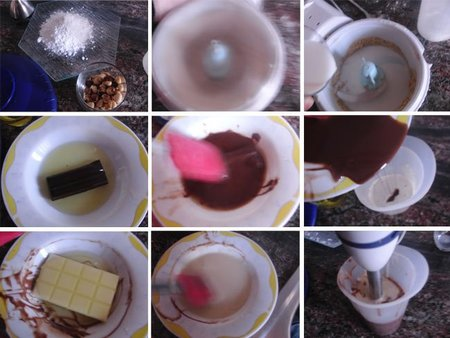 Crema de cacao. Receta