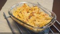 Receta de macarrones al queso con chorizo