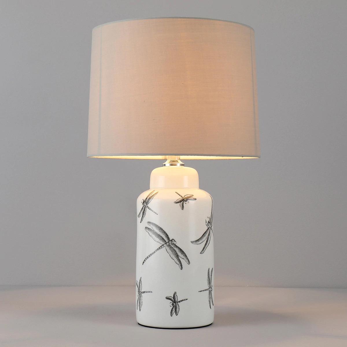 Lámpara de libélulas