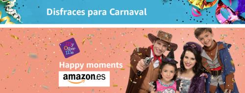 Especial Carnaval: 34 disfraces por menos de 30 euros para niños y adultos en Amazon