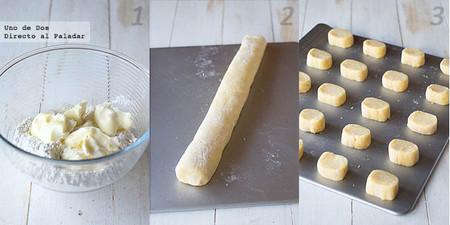 Receta de galletas rústicas con almendras paso a paso