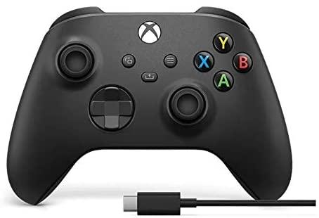 Control Inalámbrico Xbox + Cable USB-C (compatible con Xbox Series y Xbox One)
