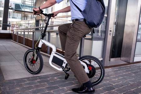 Klever E-Bike Q25, plegable y con sistema modular actualizable