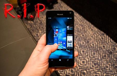 Esto suena a despedida definitiva y es que la gama Lumia desaparece de la Tienda de Microsoft en España