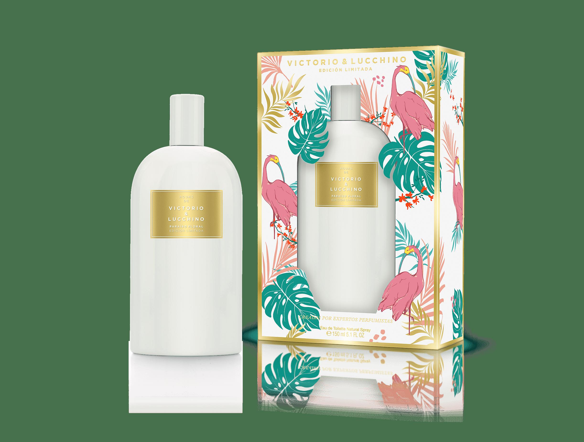 Eau de Toilette Paraiso Floral. Edición limitada 150 ml Aguas de Victorio & Lucchino