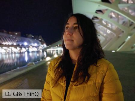 Lg G8s Thinq Retrato Noche