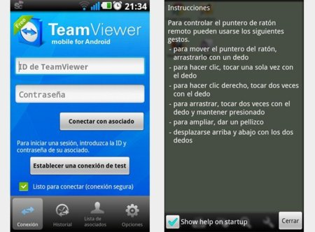team viewer para android