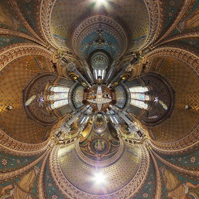 La impresionante Basílica de Fourvière de Lyon