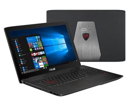 Portátil gaming Asus GL552VW-DM748T con 170 euros de descuento en Amazon