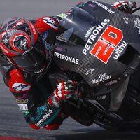 Fabio Quartararo también vuela con la Yamaha M1, Dani Pedrosa brilla y caída para Marc Márquez en Sepang