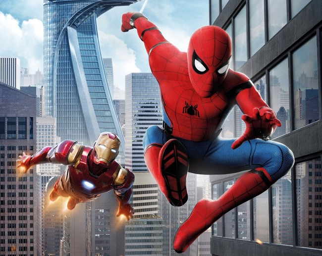 Iron Man y Spider-Man