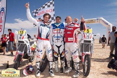Victoria para Helder Rodrigues en el Rally de Túnez y liderato provisional