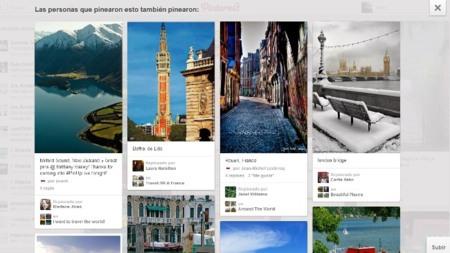 Descubriendo imágenes en Pinterest