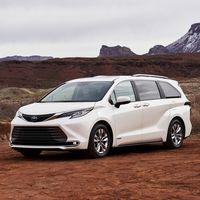 La Toyota Sienna 2021 ahora sólo es híbrida: su nueva generación es más tecnológica y eficiente que nunca