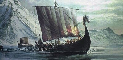 Posibles ruinas vikingas descubiertas por el deshielo