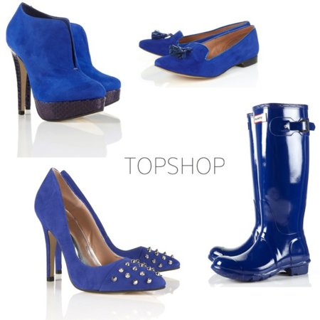 TopShop azul tendencia