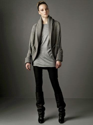 Nuevos looks y estilos de Zara, Otoño-Invierno 2009/2010, cárdigan