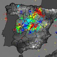 Más de 9.000 rayos en media noche: las cifras de la estruendosa tormenta que cae hoy sobre España