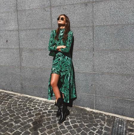 Vestidos Largos Para Llevar Con Botas Camperas 06