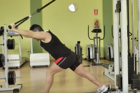 Extension Triceps Sobre Cabeza