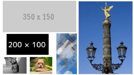 Siete sitios para obtener imágenes de relleno