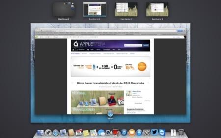 Asignar aplicaciones a diferentes escritorios en OS X