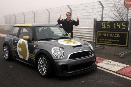 El Mini E Race se atreve con Nürburgring-Nordschleife