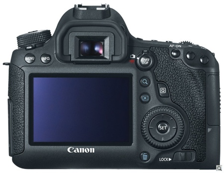 Canon EOS 60D por detrás