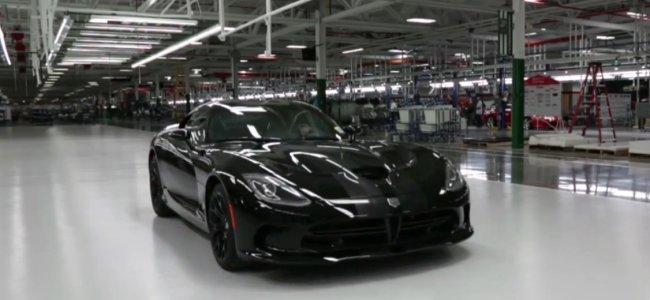 Fábrica 2013 SRT Viper