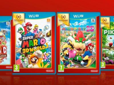Cuatro nuevos títulos para Wii U se suman al sello de Nintendo Selects