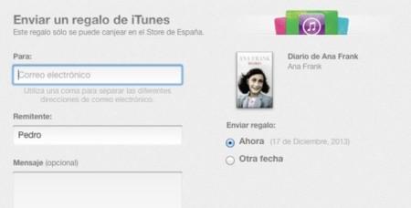 Apple habilita la posibilidad de regalar libros a través de la iBooks Store