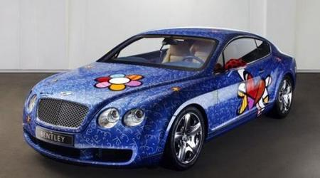 Bentley Continental GT by Romero Britto .... ¡horroroso!
