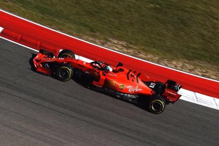 Vettel Austin F1 2019