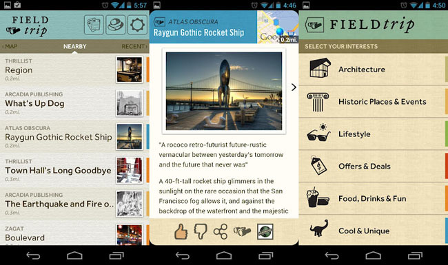 Field trip para Android