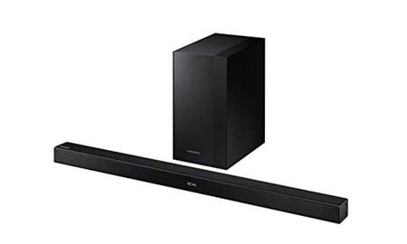 Con la barra 2.1 Samsung HW-K 450, le podrás dar el mejor sonido a tu TV pagando sólo 149 euros en el Black Friday de Mediamarkt