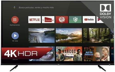 Televisión 4K con Dolby Vision TCL en oferta Buen Fin 2020