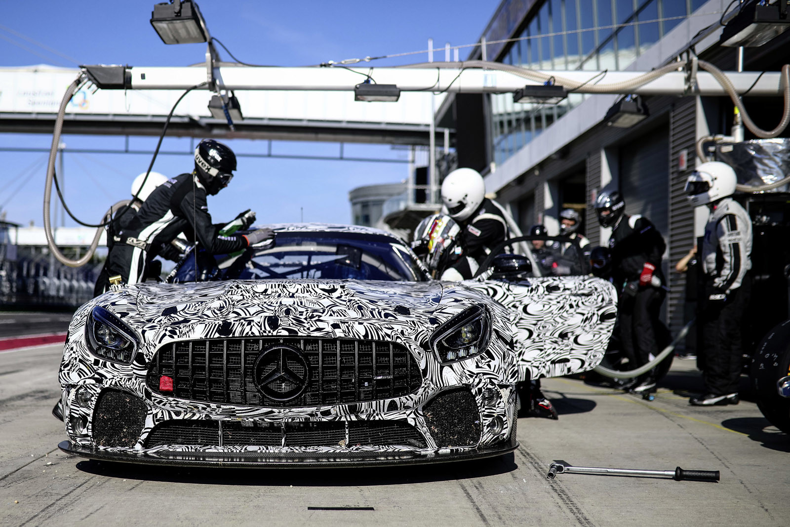 Foto de Mercedes-AMG GT4 (13/14)
