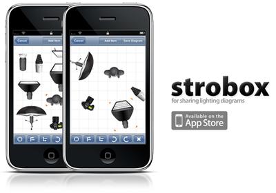 Strobox, esquemas de iluminación en el iPhone