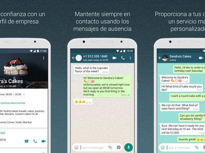 WhatsApp Business sale de la fase beta para poner orden a las cuentas profesionales