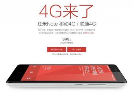 Mi ya ha presentado la versión 4G del Redmi Note, y, además, lleva un Snapdragon 400