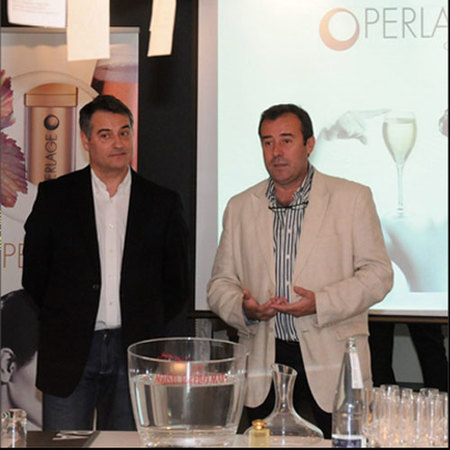 Alberto Sánchez y Agustí Torelló, fundadores de Perlage