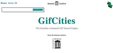 Todos los GIFs animados clásicos de los 90, en GifCities